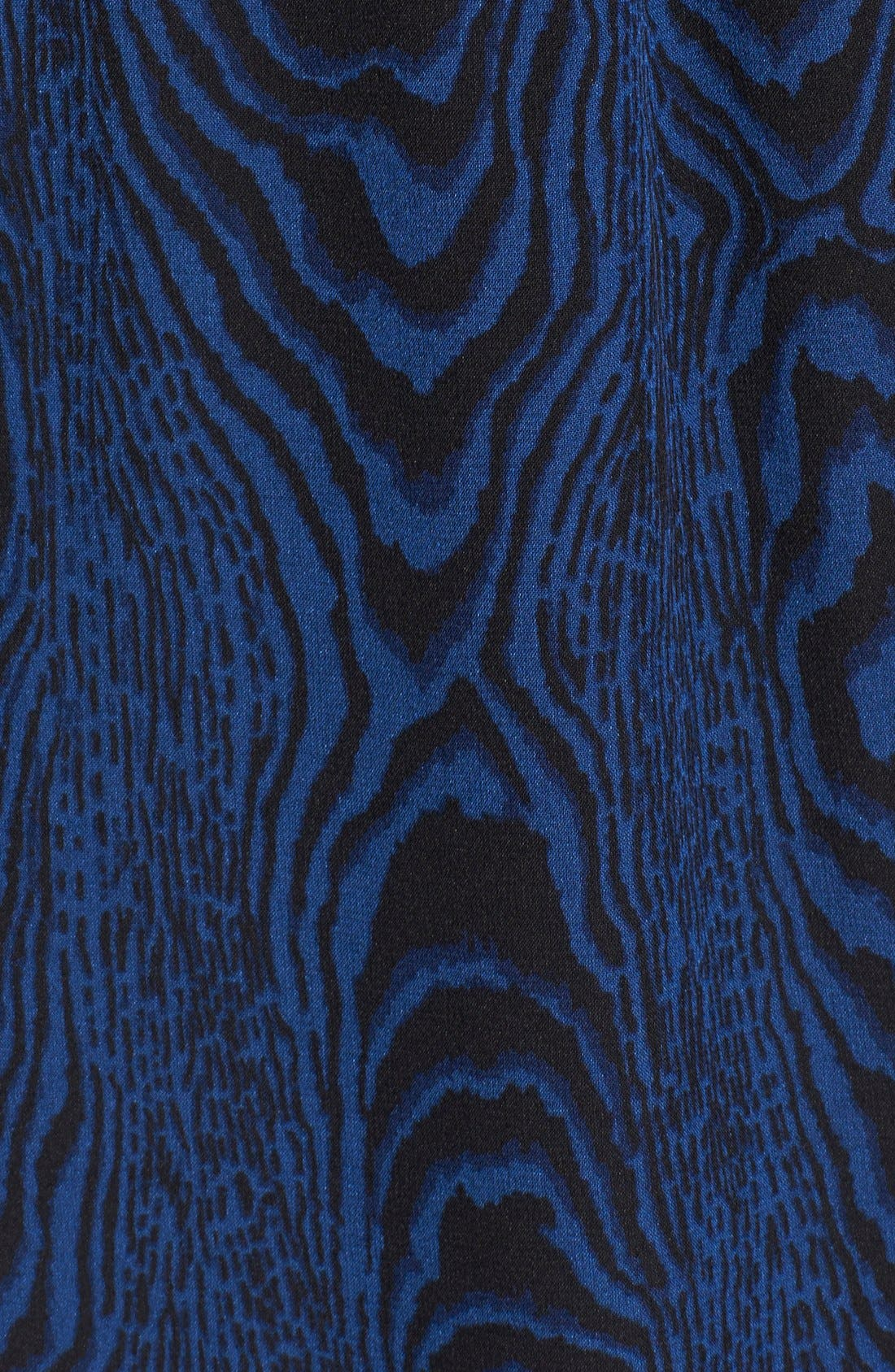 Alternate Image 3  - Diane von Furstenberg 'Gilmore' Print Silk Shirt