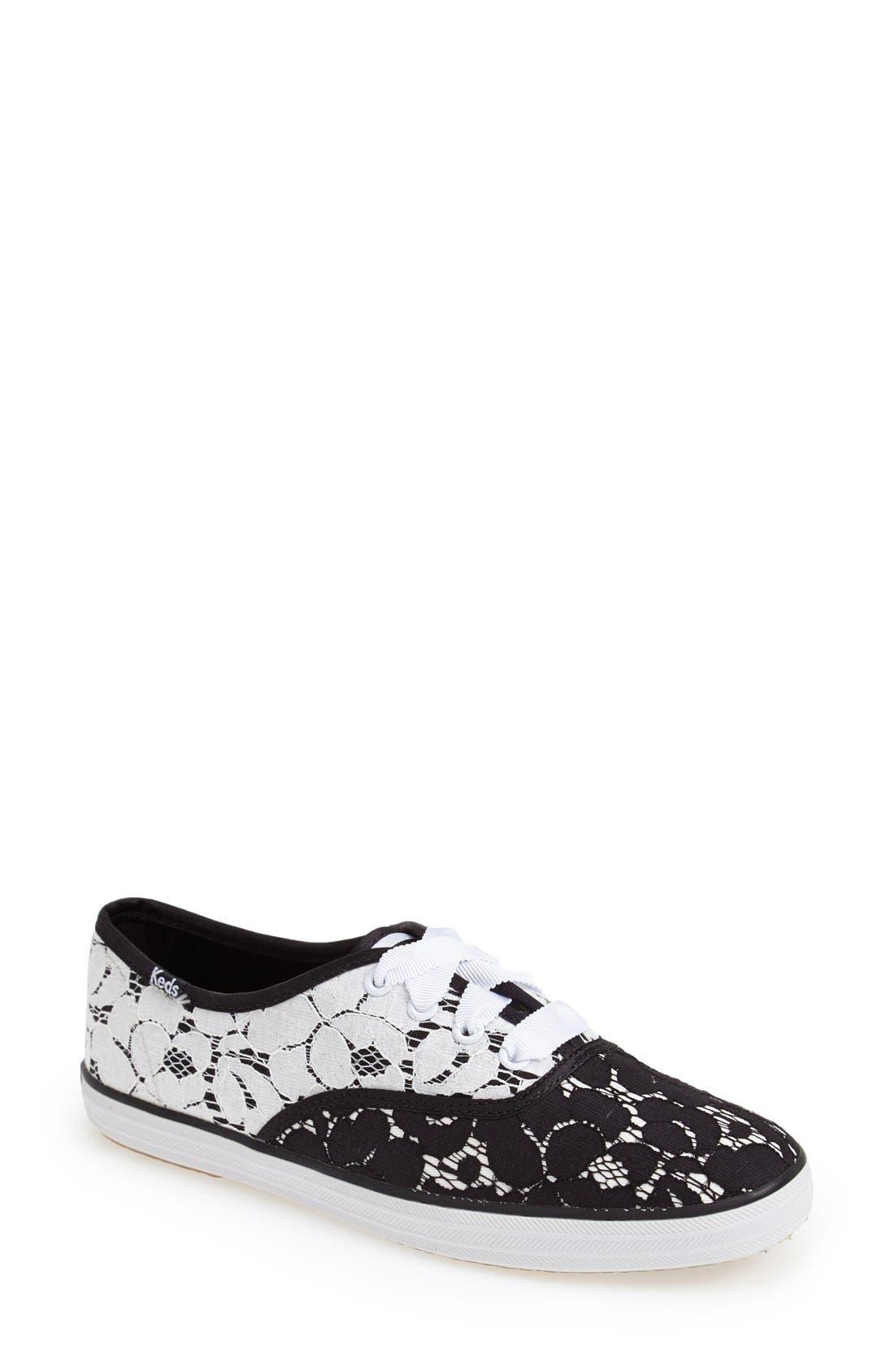 Alternate Image 1 Selected - Keds® 'Champion - Lace' Sneaker (Women)