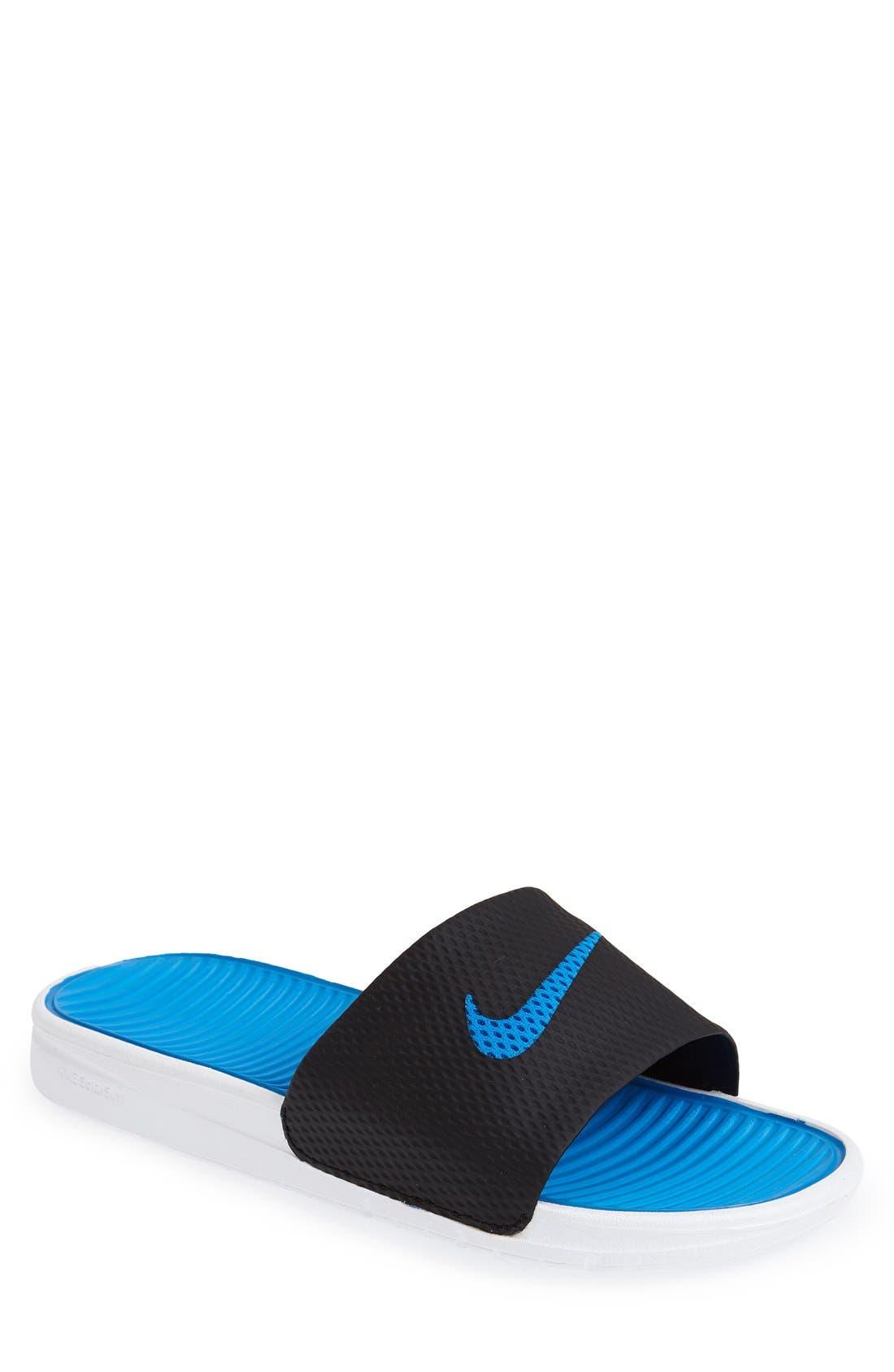Alternate Image 1 Selected - Nike 'Benassi Solarsoft' Slide
