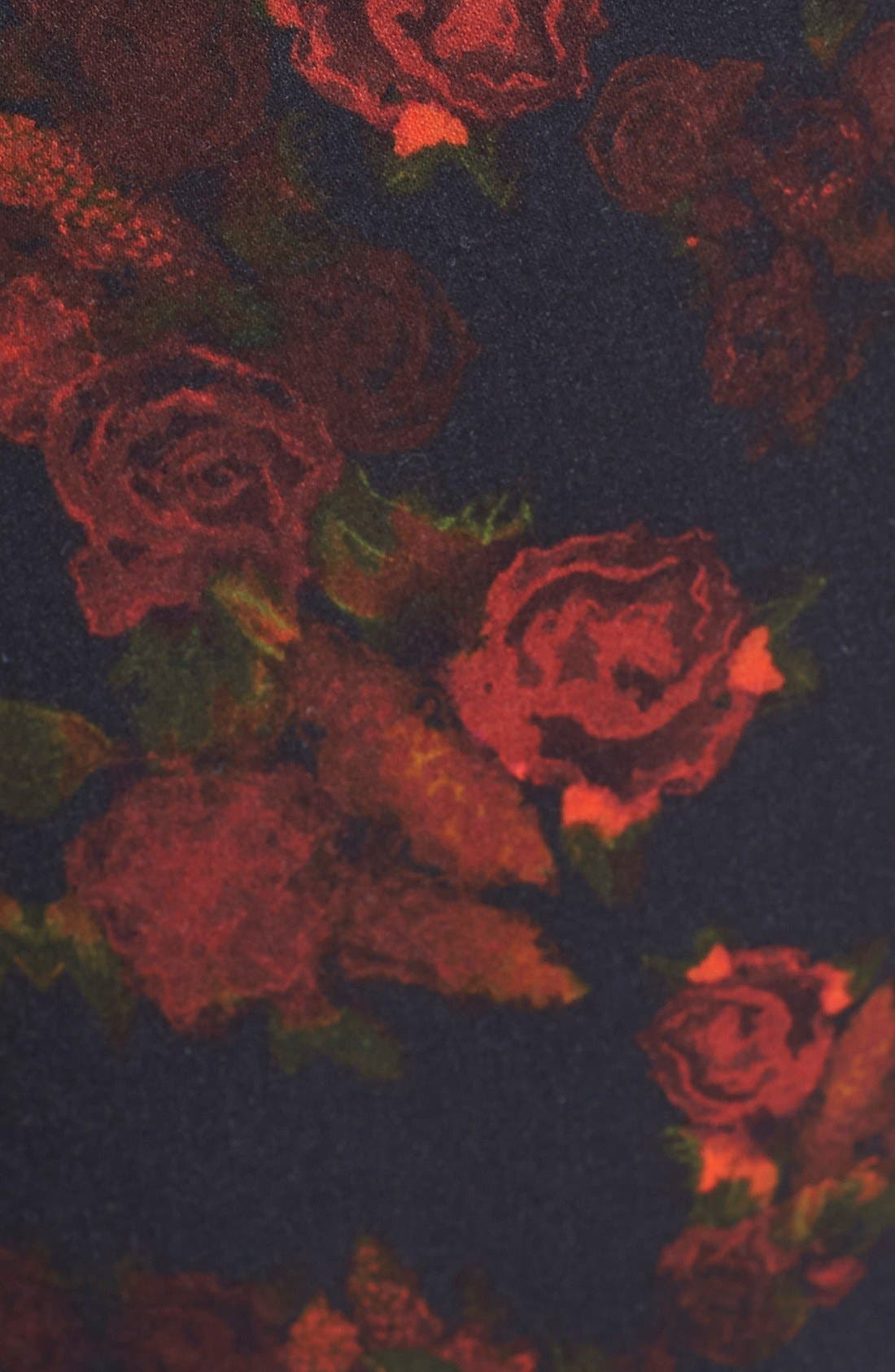 Alternate Image 3  - 7 For All Mankind® 'The Skinny' Stretch Jeans (Rouge Roses)