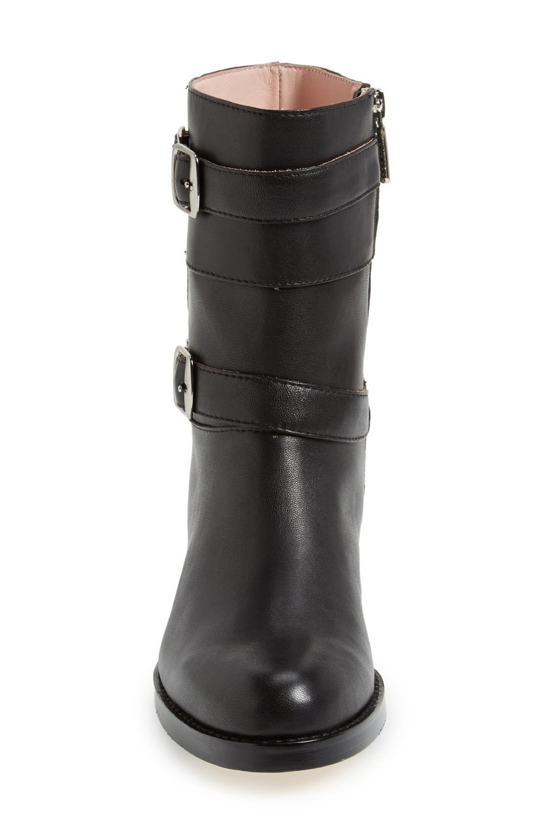 Alternate Image 3  - Taryn Rose 'Sammie' Leather Moto Boot (Women)