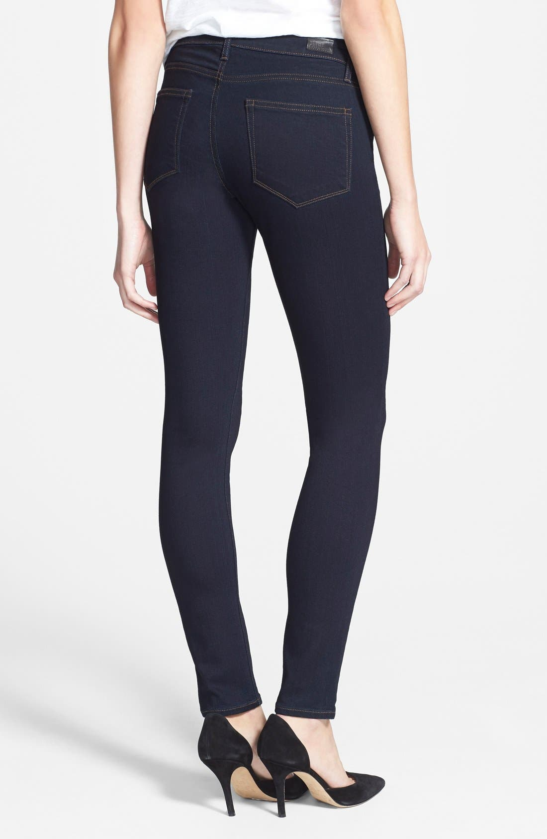 Alternate Image 2  - Paige Denim 'Transcend - Verdugo' Ultra Skinny Jeans (Rockwell No Whiskers)