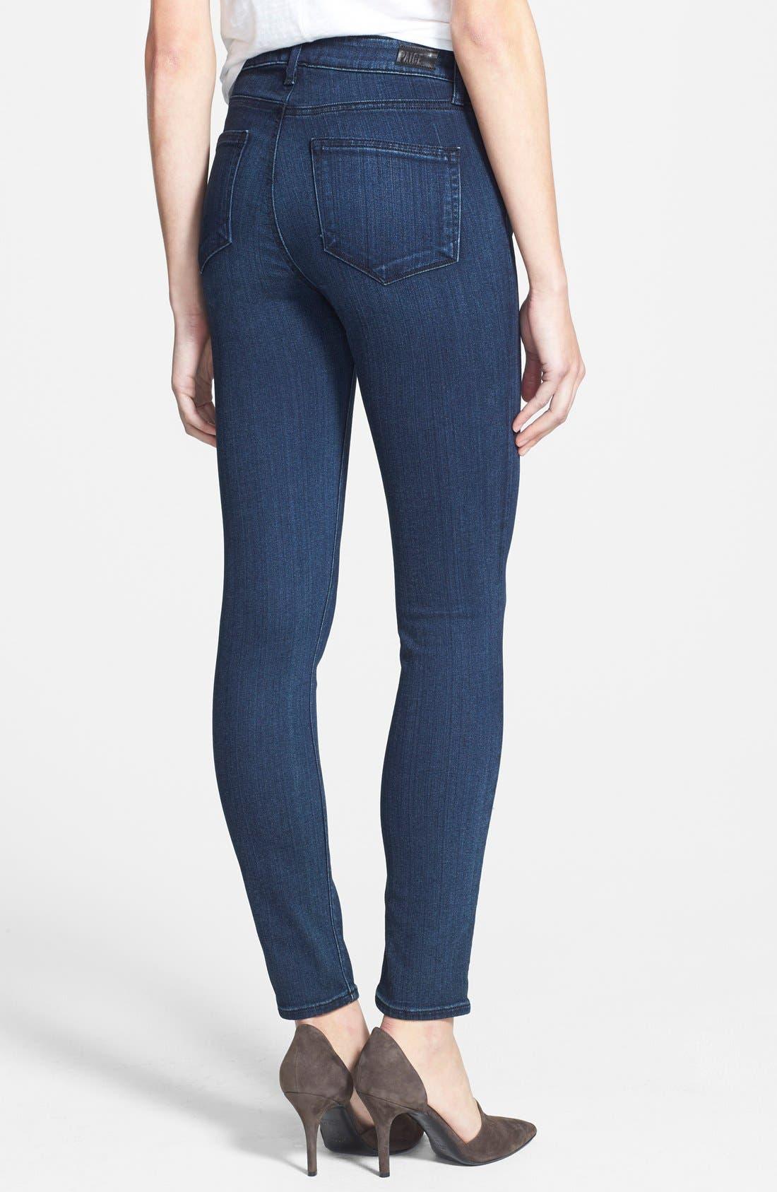 Alternate Image 2  - Paige Denim 'Transcend - Hoxton' High Rise Ankle Jeans (Valor)