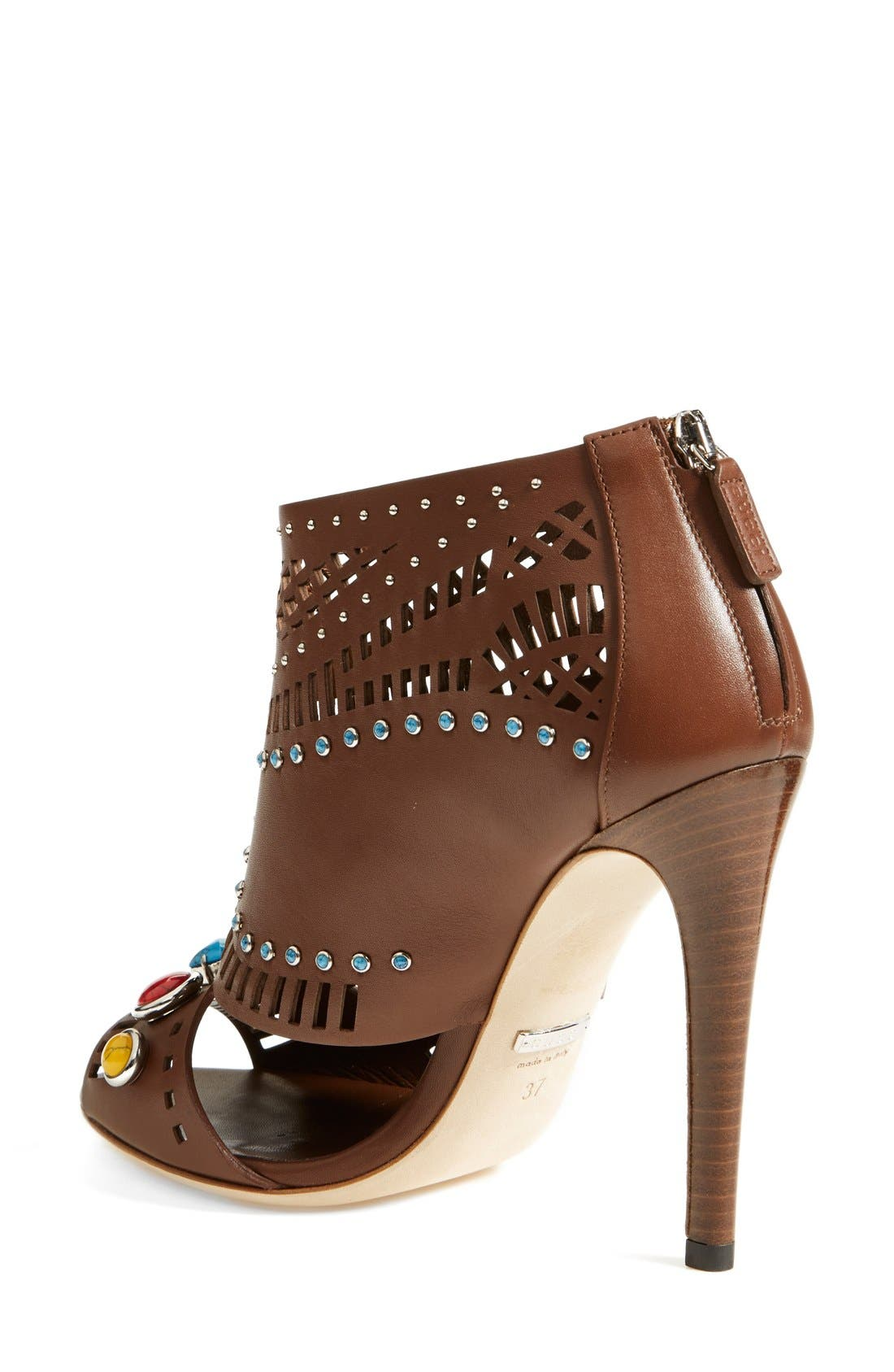 Alternate Image 2  - Gucci 'Lika' Stone Detailed Bootie (Women)