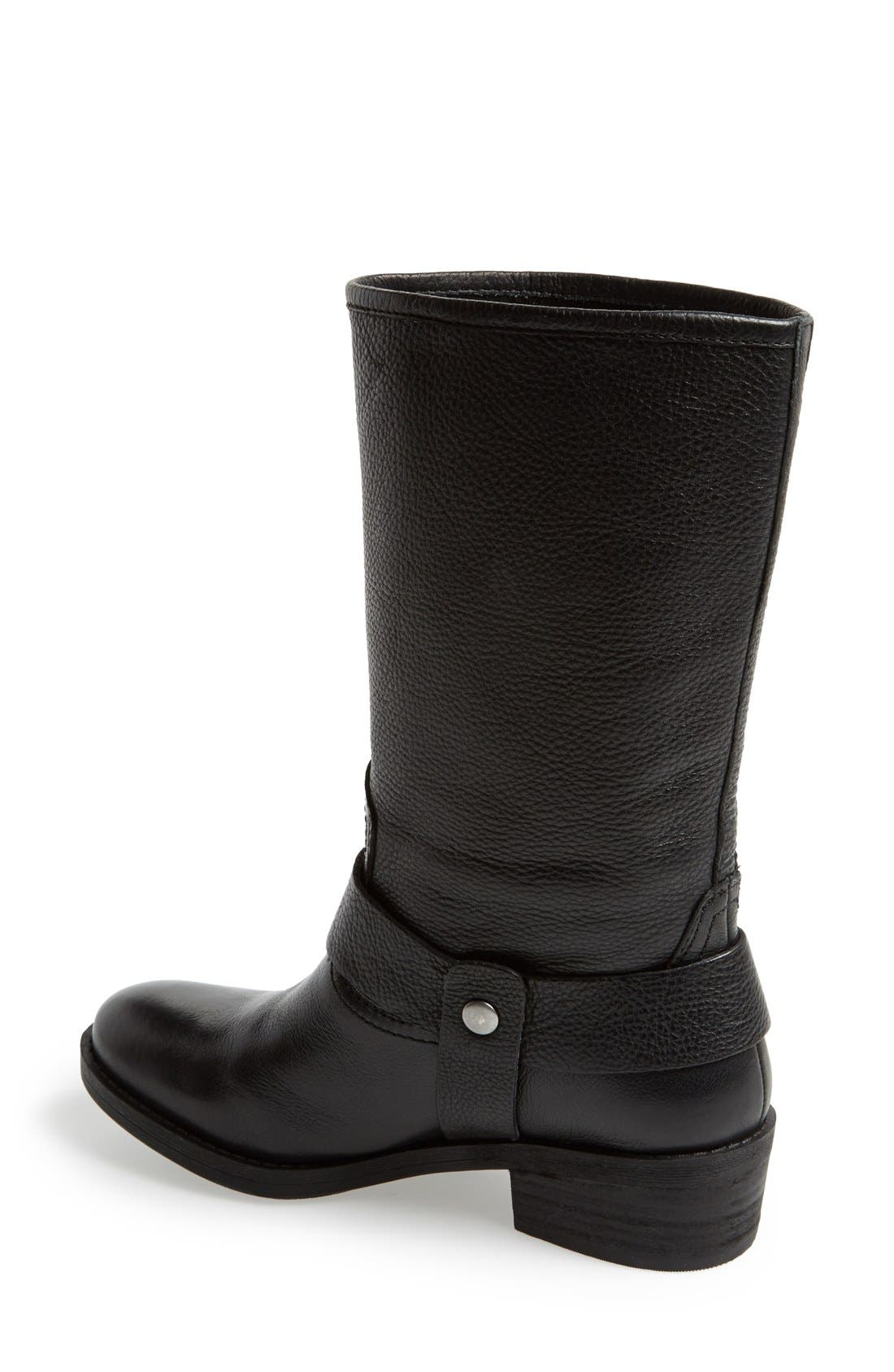 Alternate Image 2  - Lucky Brand 'Rolanda' Leather Harness Boot (Women)