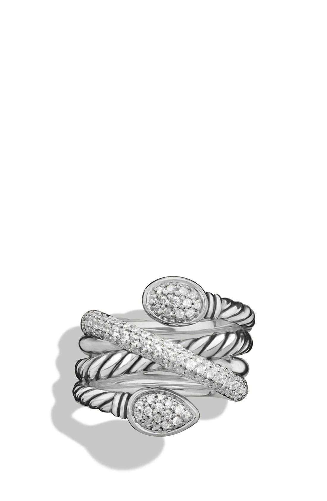 DAVID YURMAN Renaissance Ring with Diamonds