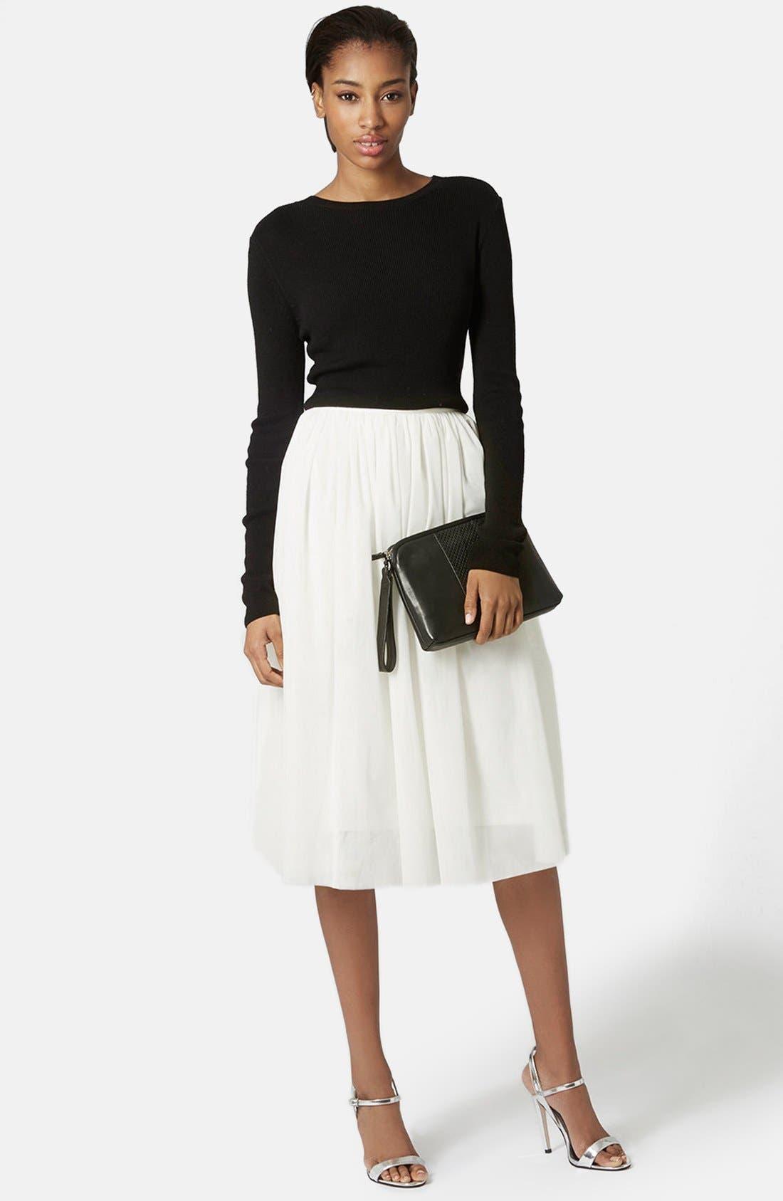 Alternate Image 5  - Topshop Ballerina Tulle Skirt