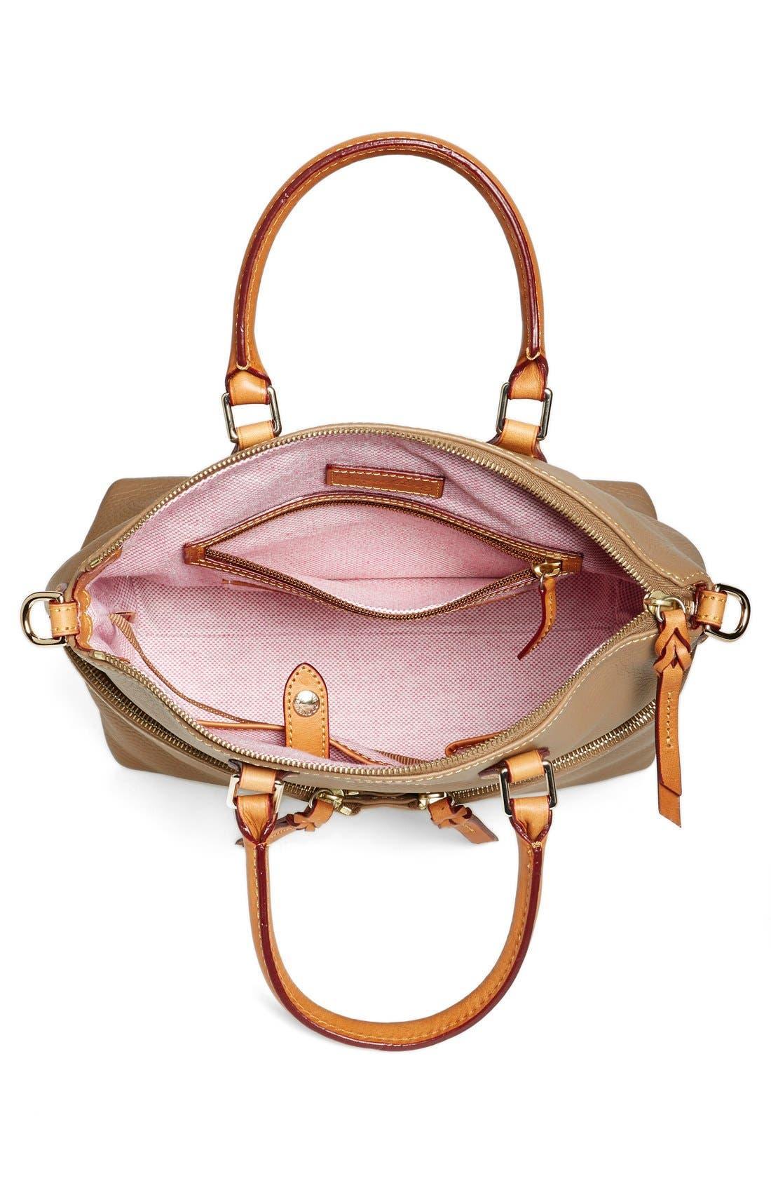 Alternate Image 3  - Dooney & Bourke 'Dillen' Zip Pocket Satchel (Online Only)