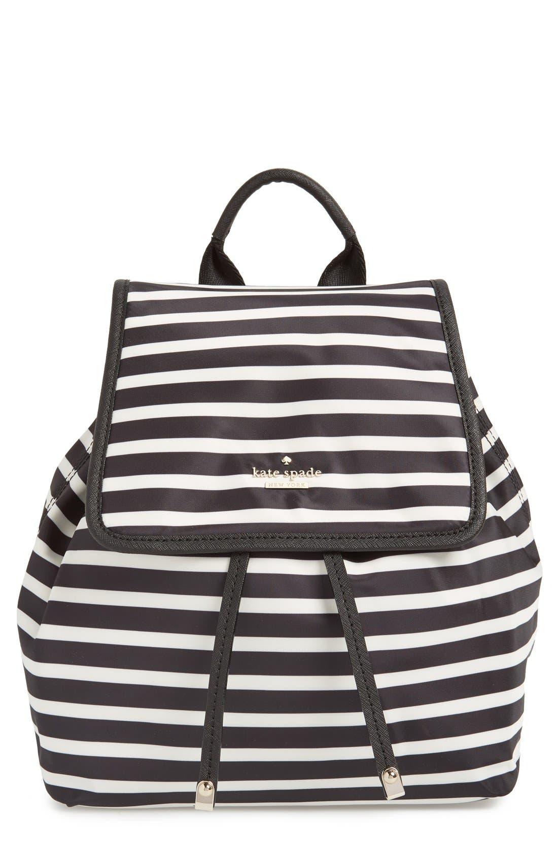 Alternate Image 1 Selected - kate spade new york 'molly' nylon backpack