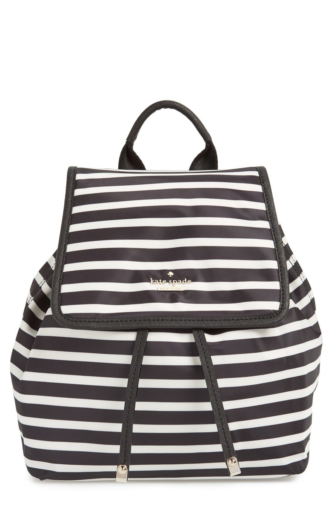 Main Image - kate spade new york 'molly' nylon backpack