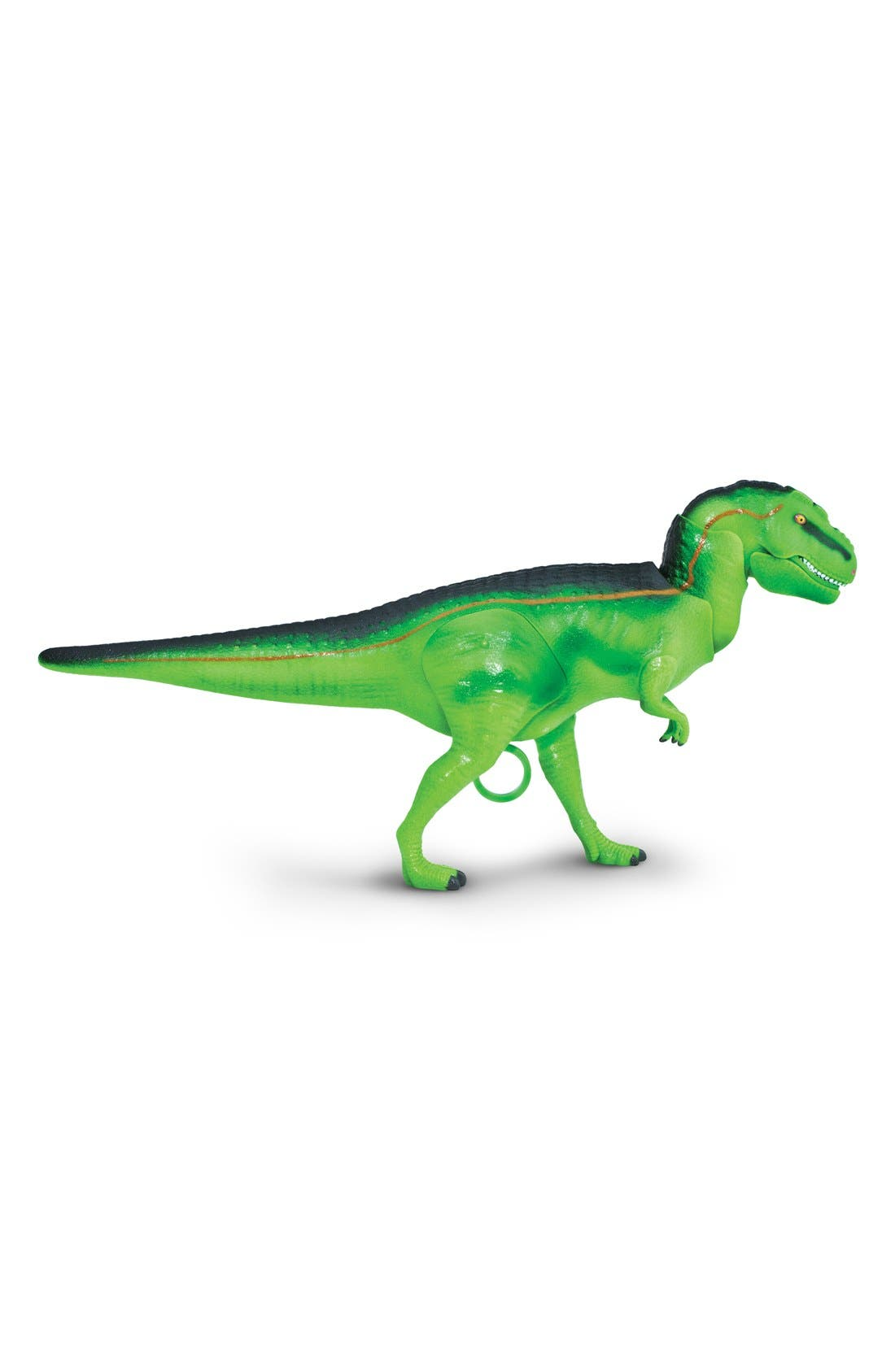 Jaw Snapping Tyrannosaurus Rex Dinosaur Figurine,                         Main,                         color, No Color