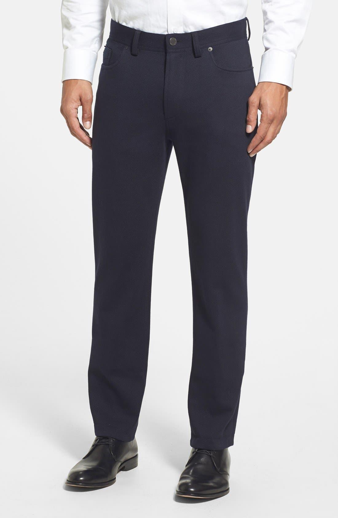 Vince Camuto Straight Leg Five Pocket Stretch Pants