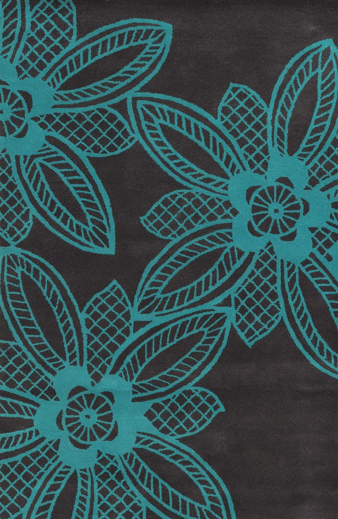 Alternate Image 1 Selected - Rizzy Home 'Lacey Jane' Hand Tufted Wool Area Rug