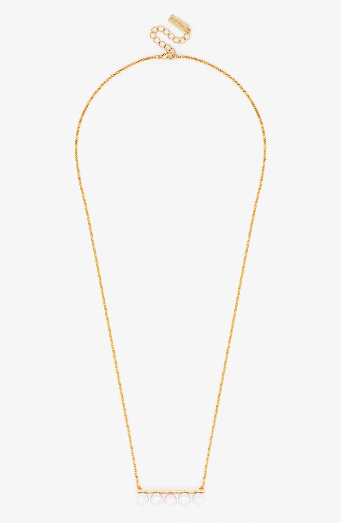 Alternate Image 2  - BaubleBar 'Trending: Modern Pearly Bead' Necklace, Bracelet & Ear Jacket Gift Set