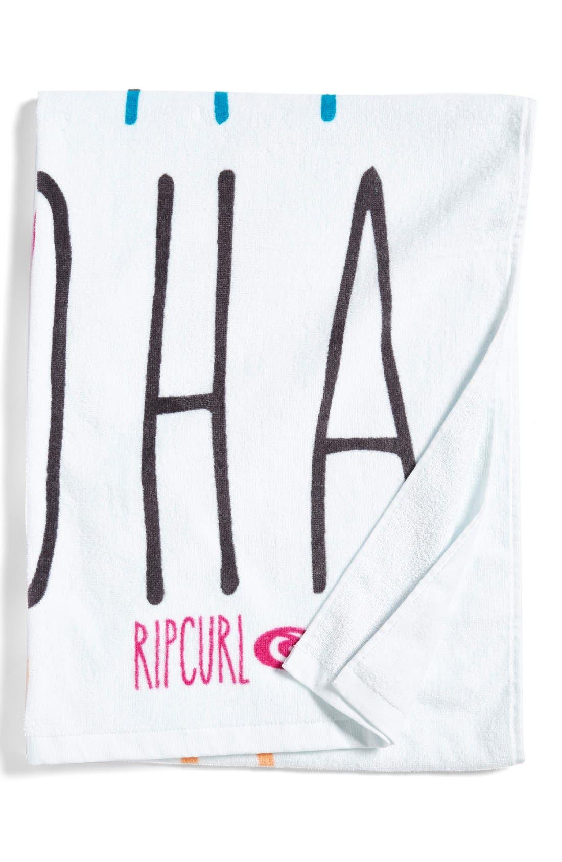 Main Image - Rip Curl 'You Had Me At Aloha' Towel (Juniors)