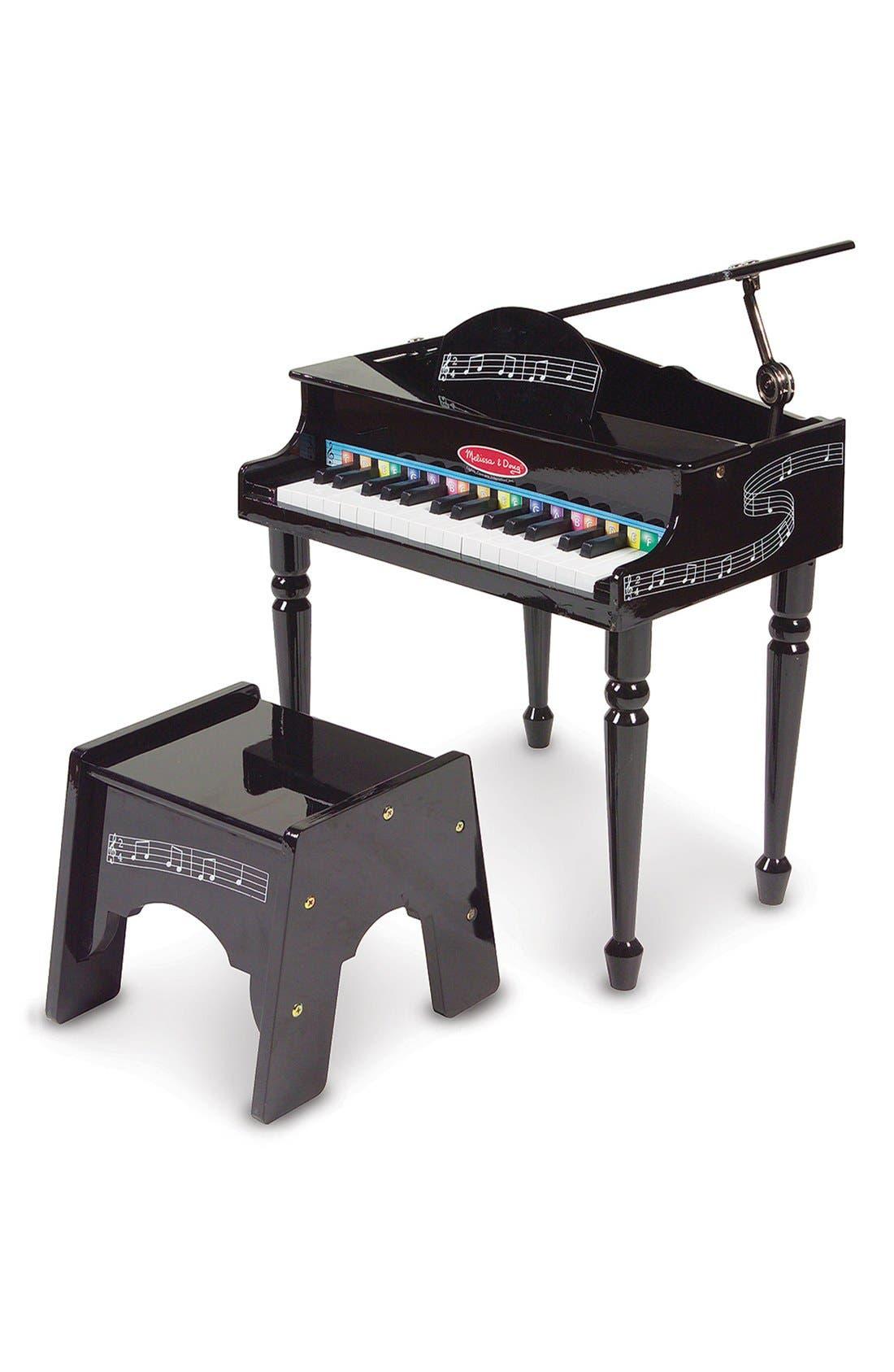 Grand Piano,                         Main,                         color, Black