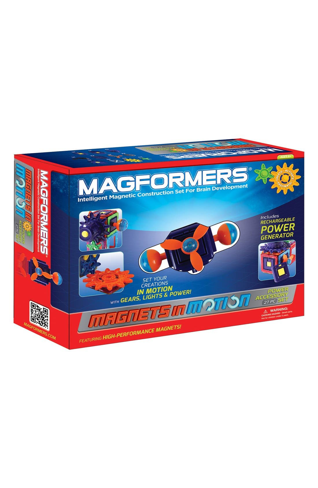 Alternate Image 1 Selected - Magformers 'Magnets in Motion' Construction Set