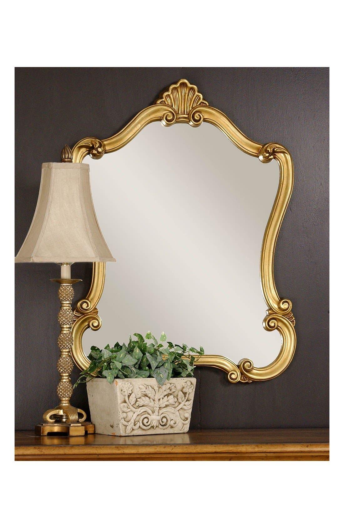 Alternate Image 3  - Uttermost 'Walton Hall' Antiqued Goldtone Vanity Mirror