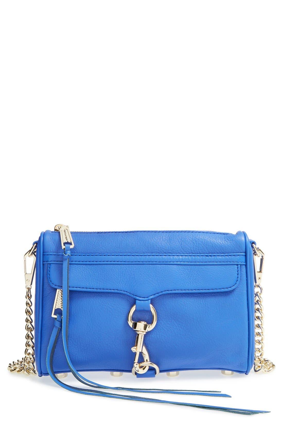 Alternate Image 1 Selected - Rebecca Minkoff 'Mini MAC' Convertible Crossbody Bag