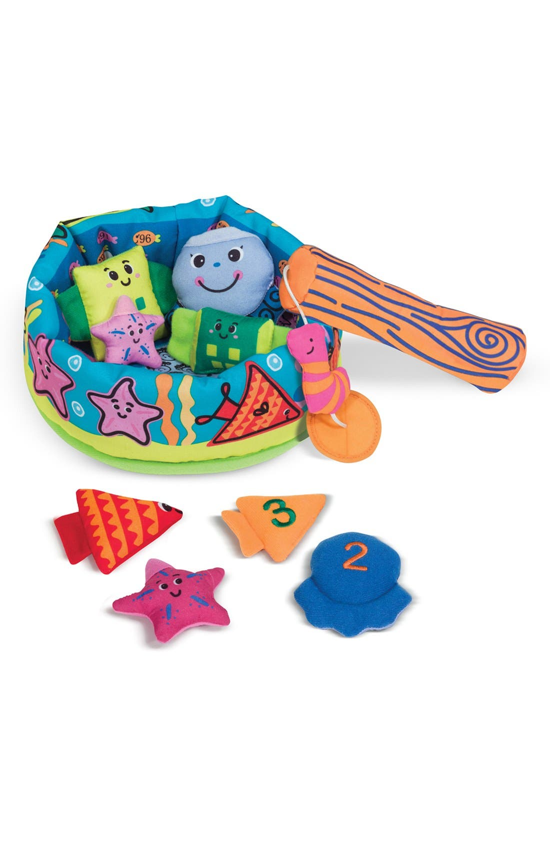 'Fish & Count' Game,                         Main,                         color, Blue