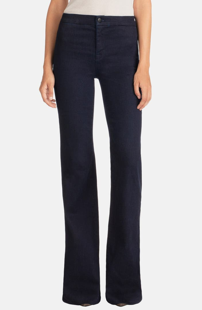 J Brand High Rise Flare Jeans (Inkwell) | Nordstrom
