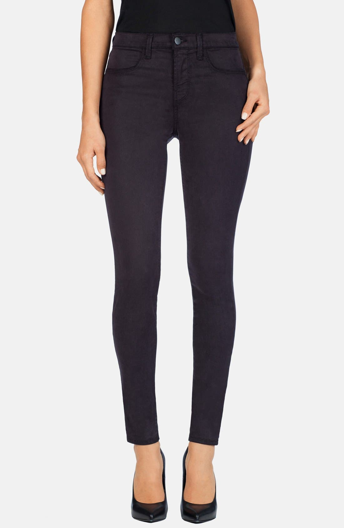 Main Image - J Brand '485' Mid Rise Super Skinny Jeans