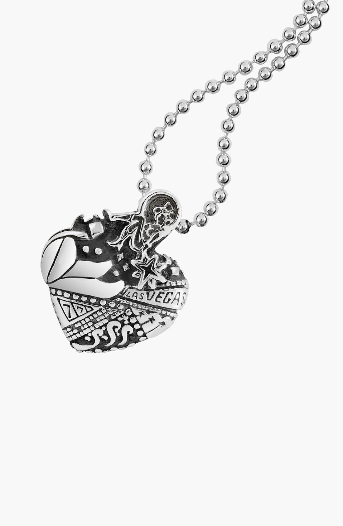 'Hearts of LAGOS - Las Vegas' Reversible Pendant Necklace,                             Alternate thumbnail 4, color,                             Heart Of Las Vegas