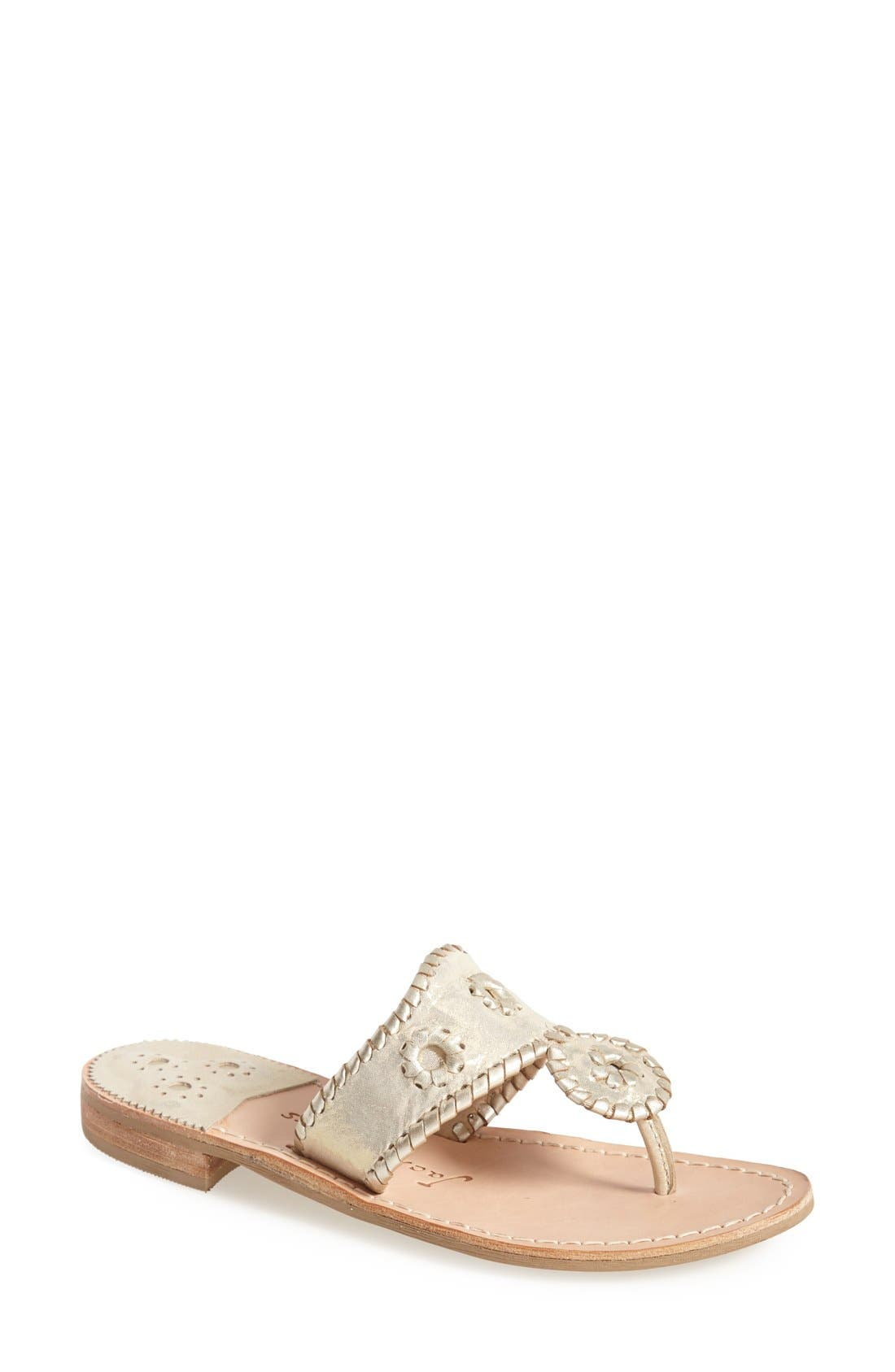 Main Image - Jack Rogers 'Stardust' Thong Sandal (Women)