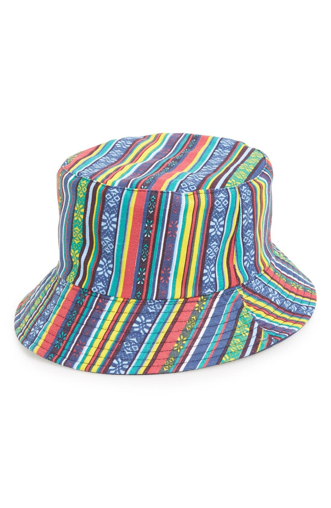 Alternate Image 1 Selected - Amici Accessories Graphic Bucket Hat (Juniors)