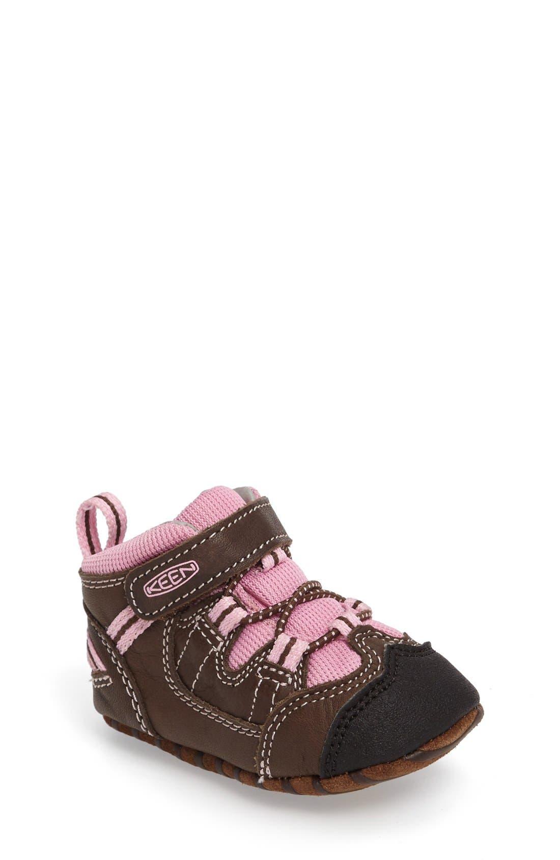 Alternate Image 1 Selected - Keen Targhee Crib Shoe (Baby & Walker)