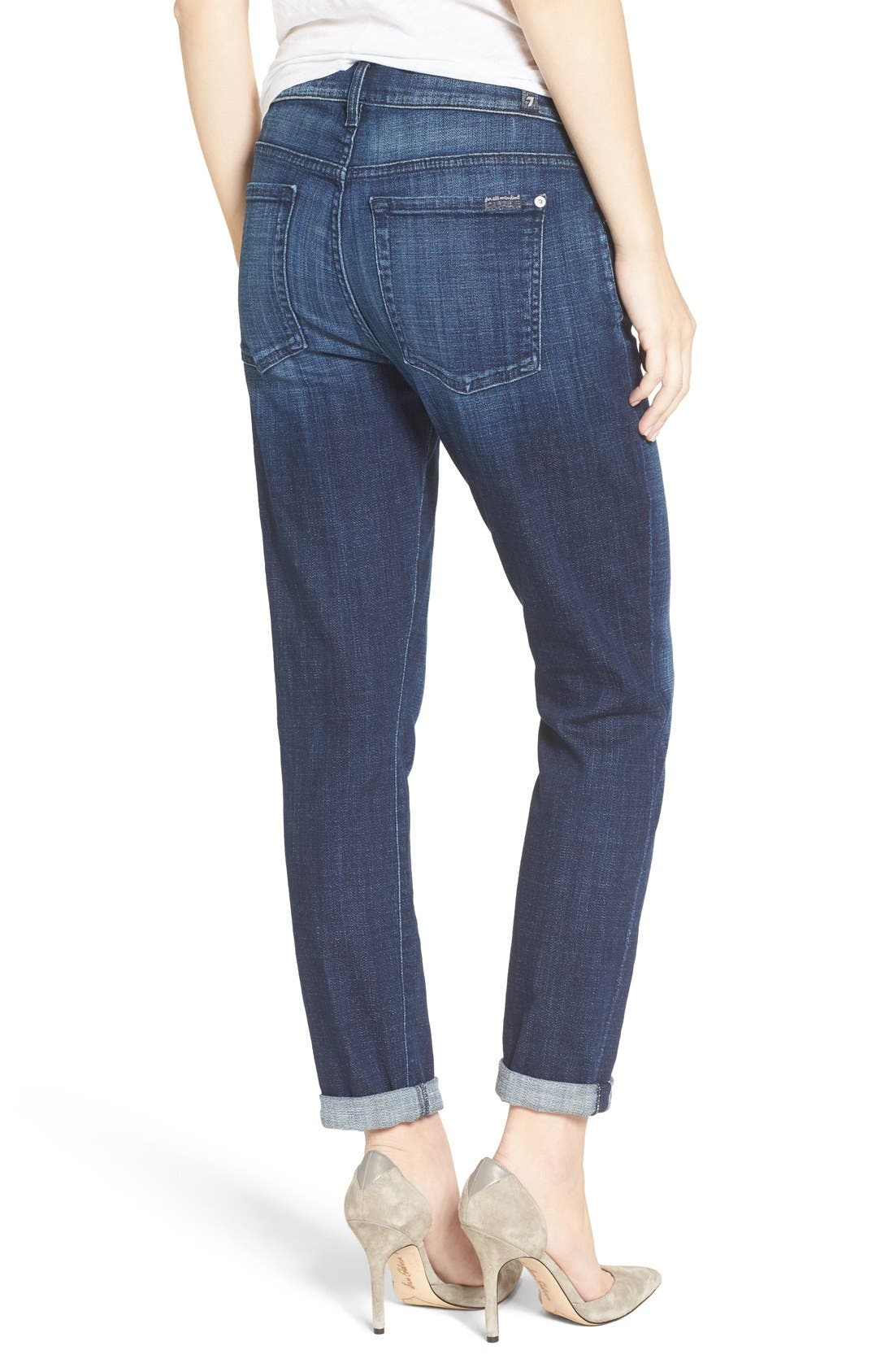 Alternate Image 2  - 7 For All Mankind® Josefina Boyfriend Jeans