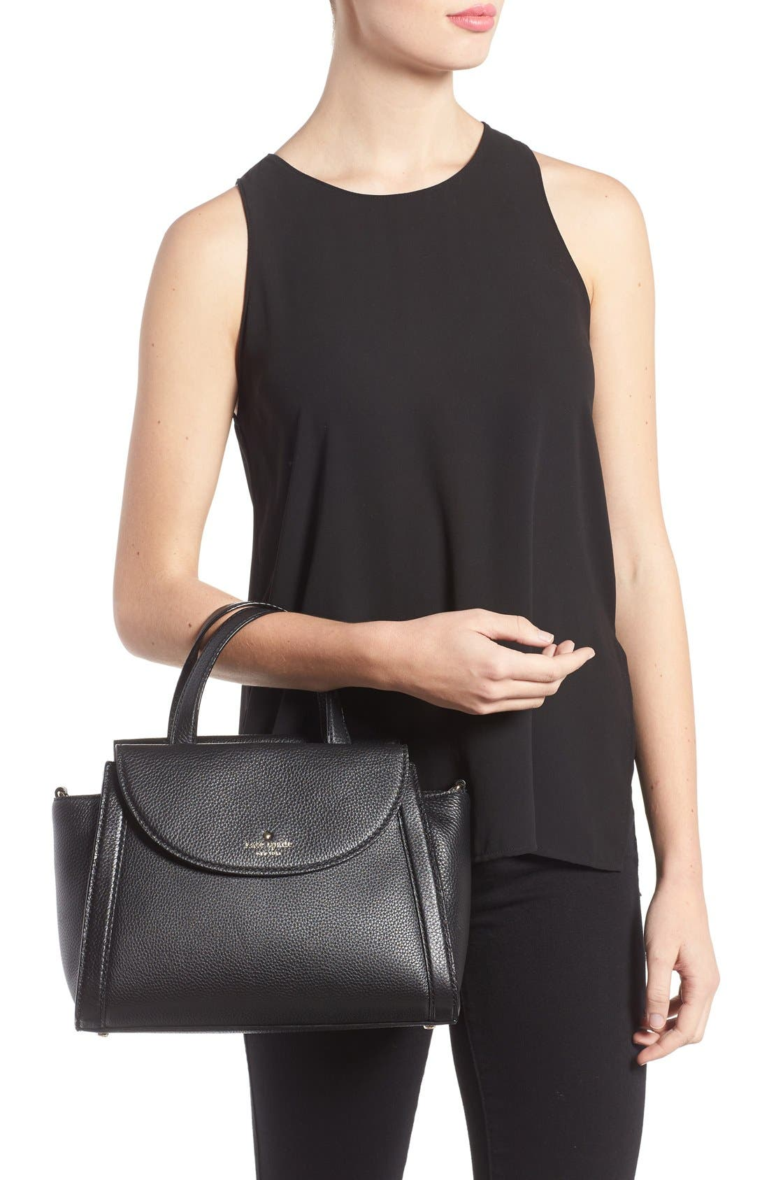 Alternate Image 2  - kate spade new york cobble hill - medium adrien leather satchel