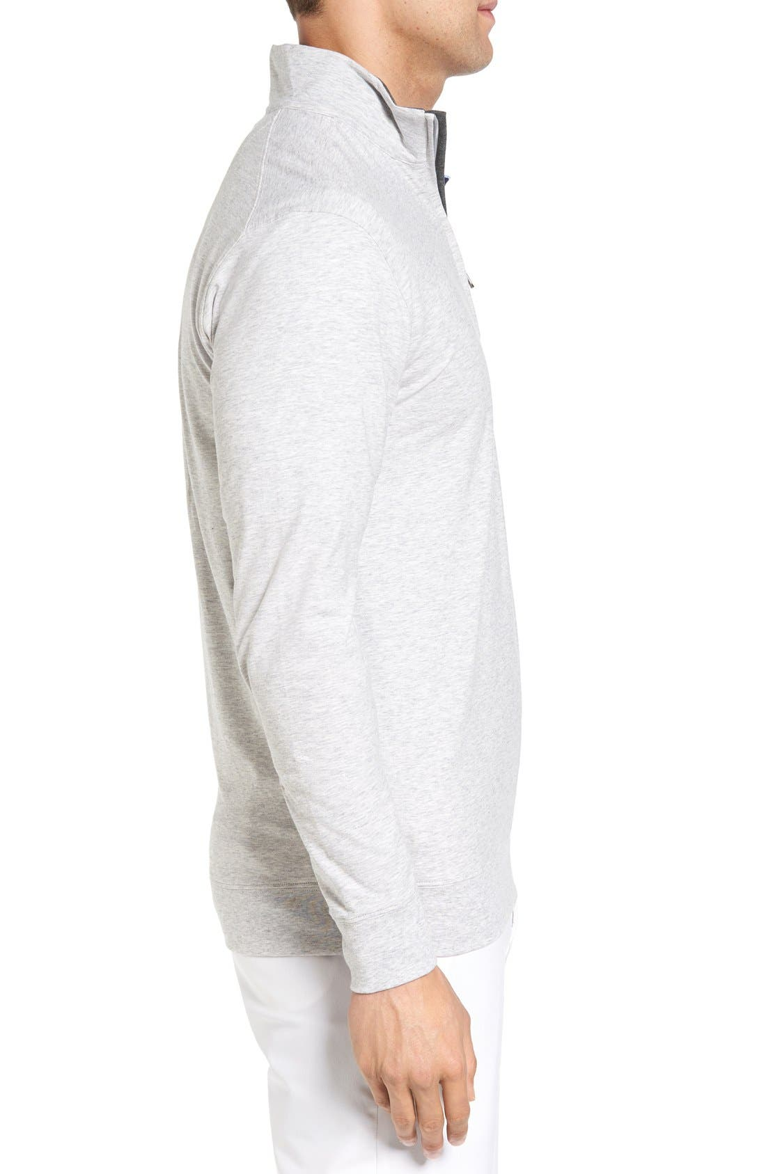 Alternate Image 3  - Bobby Jones PTO Liquid Stretch Quarter Zip Pullover