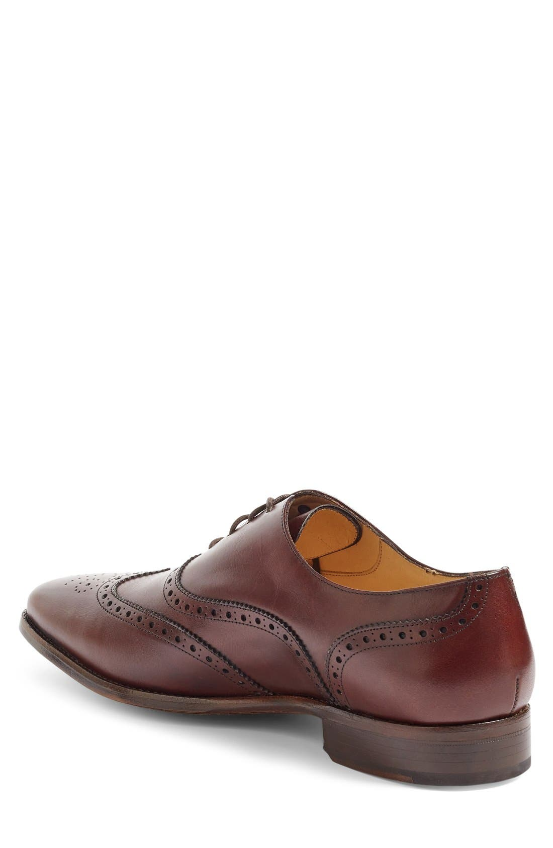 Alternate Image 2  - Jack Erwin Adam Wingtip (Men)