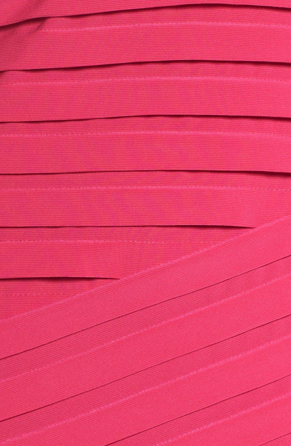 Alternate Image 6  - Adrianna Papell Shutter Pleat Sheath Dress