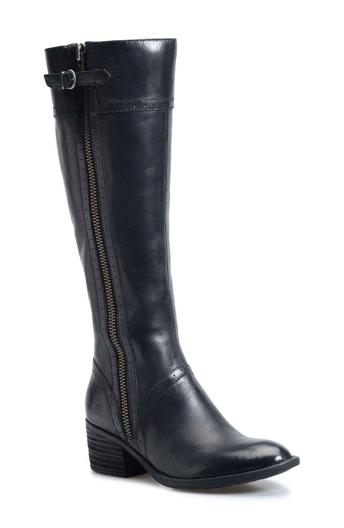 Alternate Image 1 Selected - Børn Poly Riding Boot (Women) (Regular & Wide Calf)
