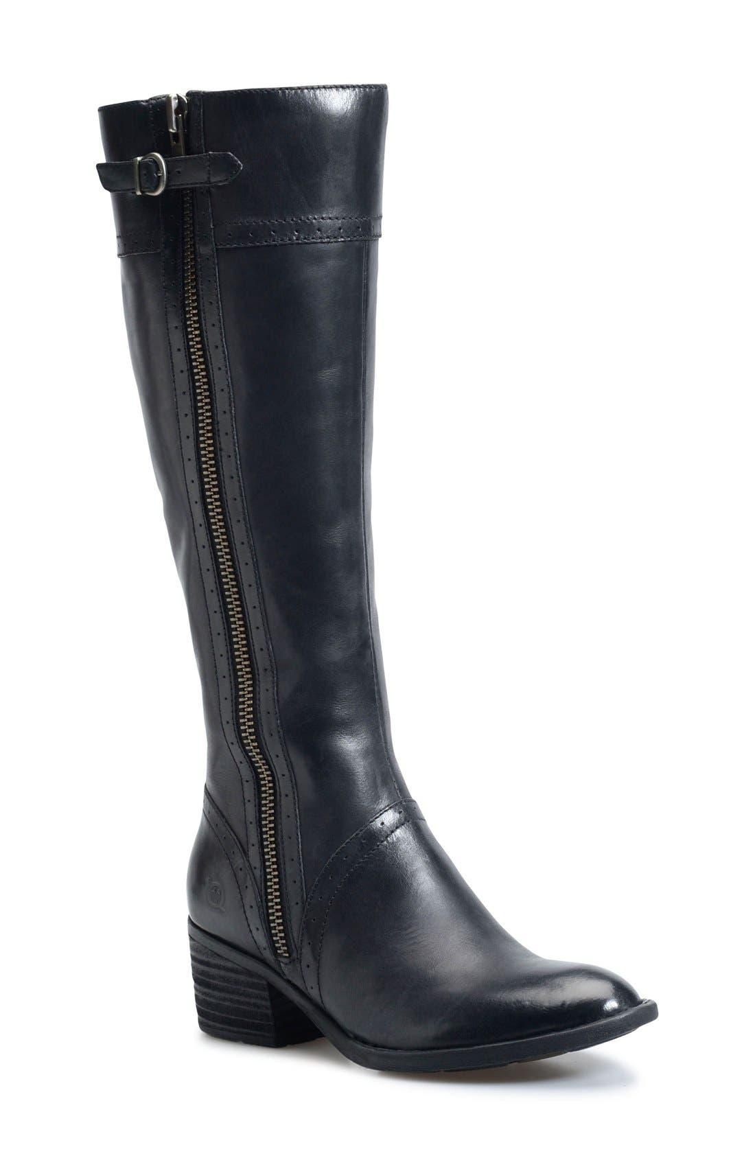 Main Image - Børn Poly Riding Boot (Women) (Regular & Wide Calf)