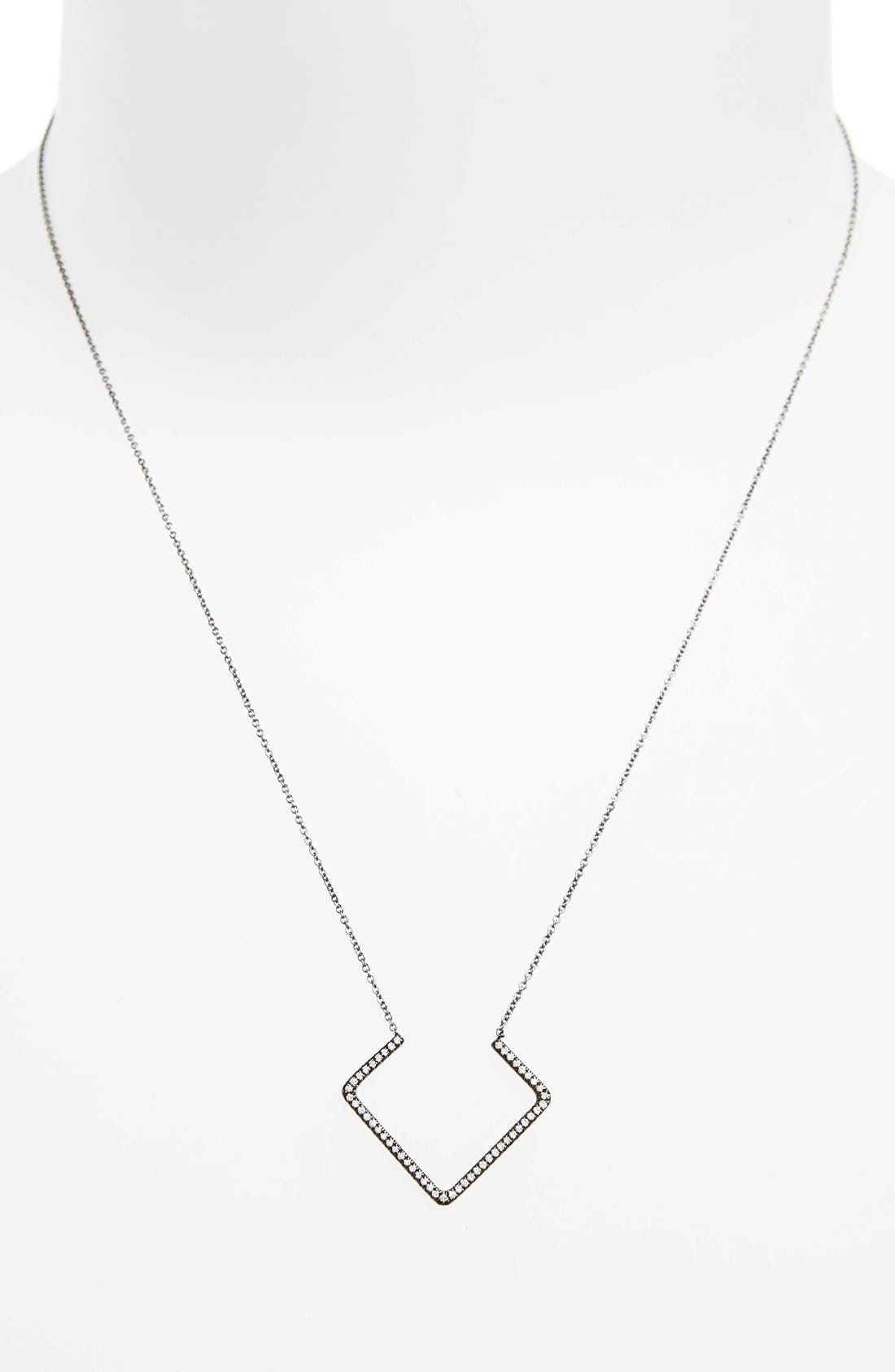 Alternate Image 2  - Bony Levy Diamond Pendant Necklace (Nordstrom Exclusive)
