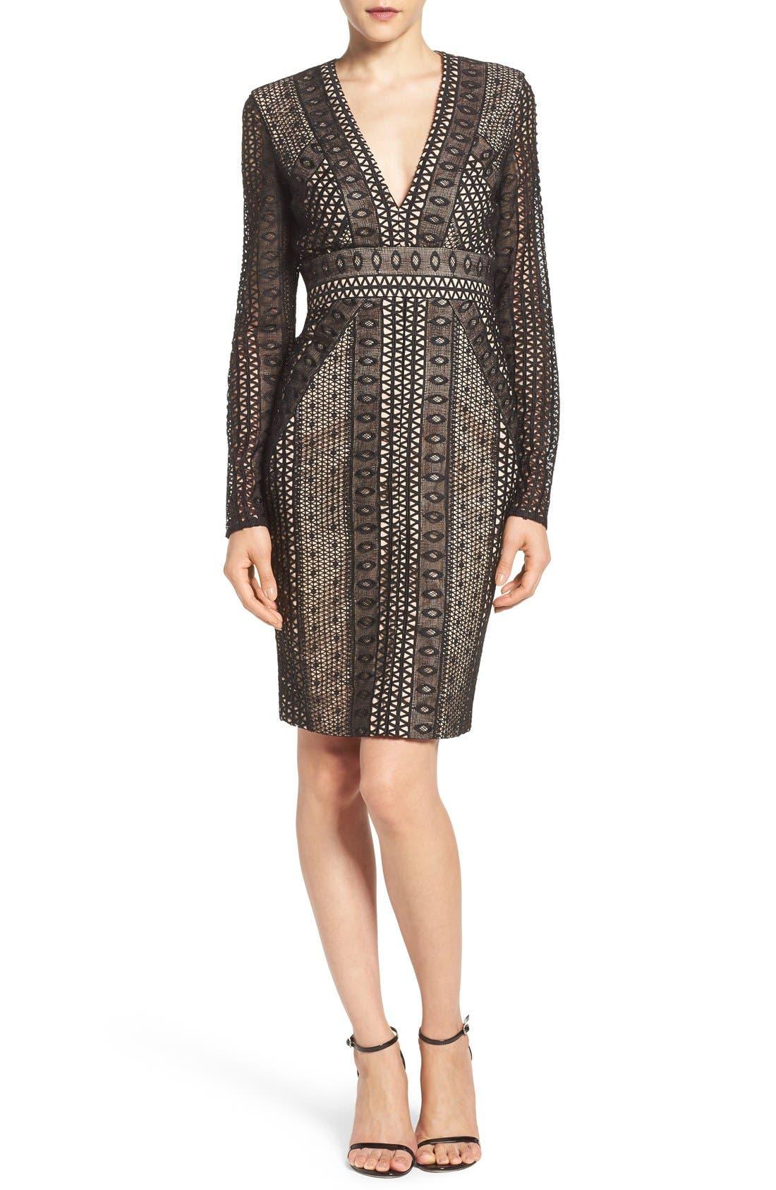 Alternate Image 4  - Bardot Allegra Lace Sheath Dress
