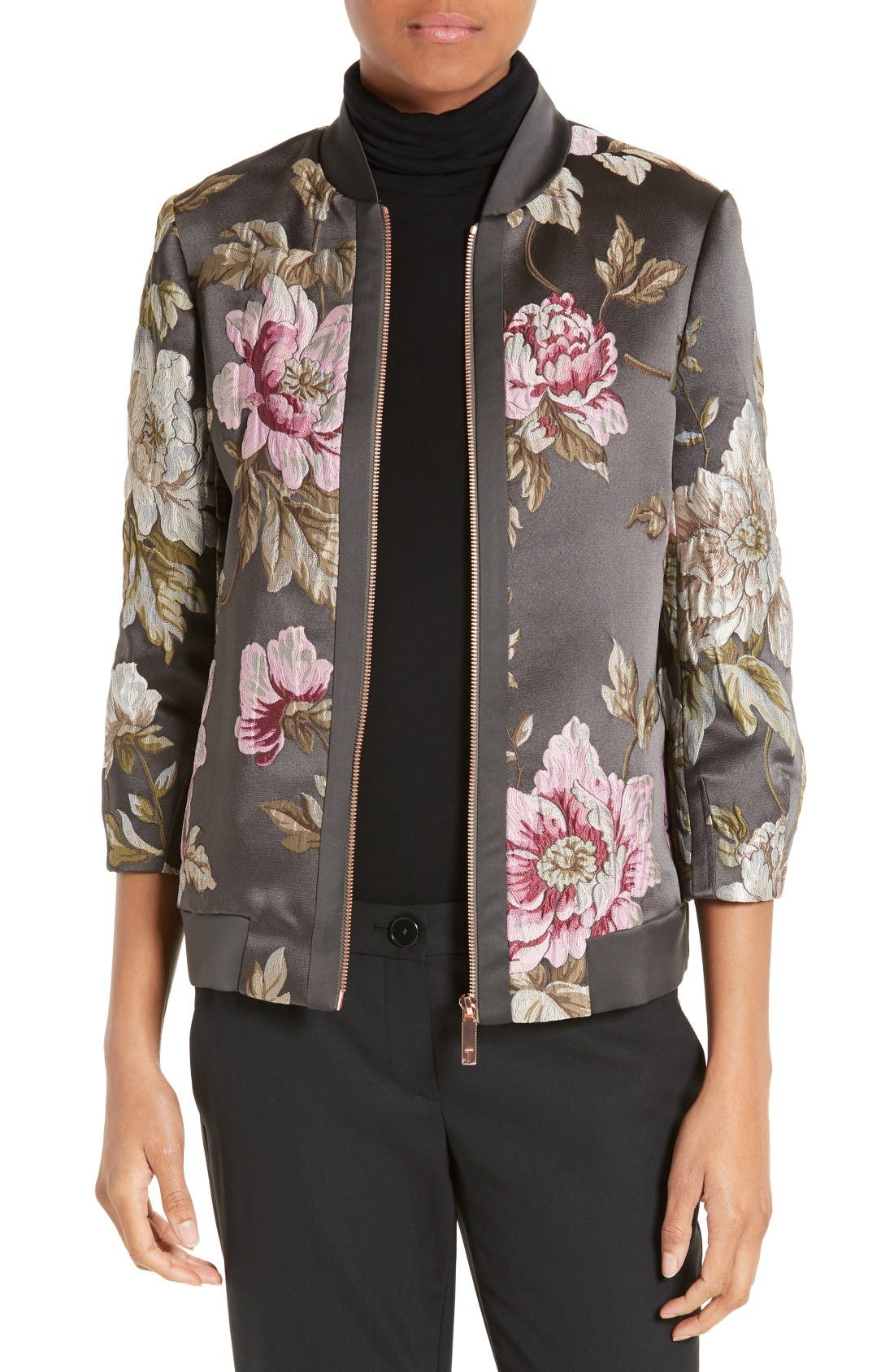 Main Image - Ted Baker London Hartye Bomber Jacket
