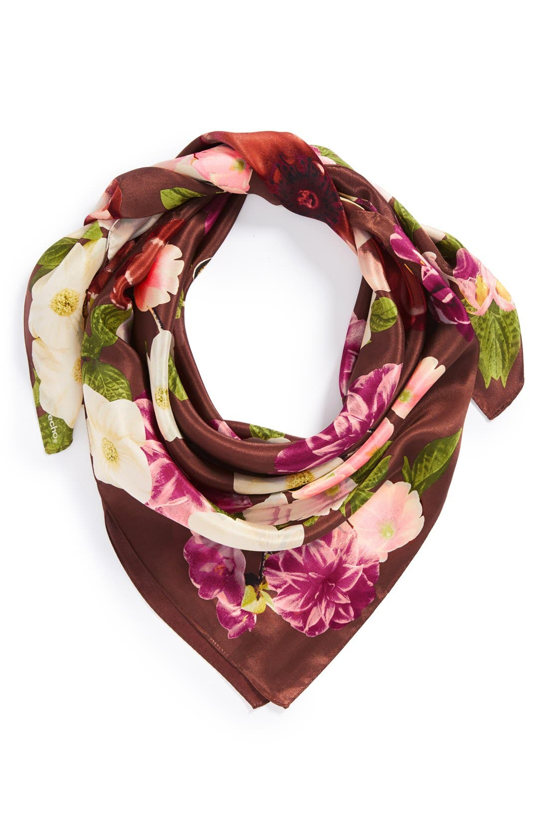 Alternate Image 1 Selected - Echo 'Glasgow' Floral Silk Scarf