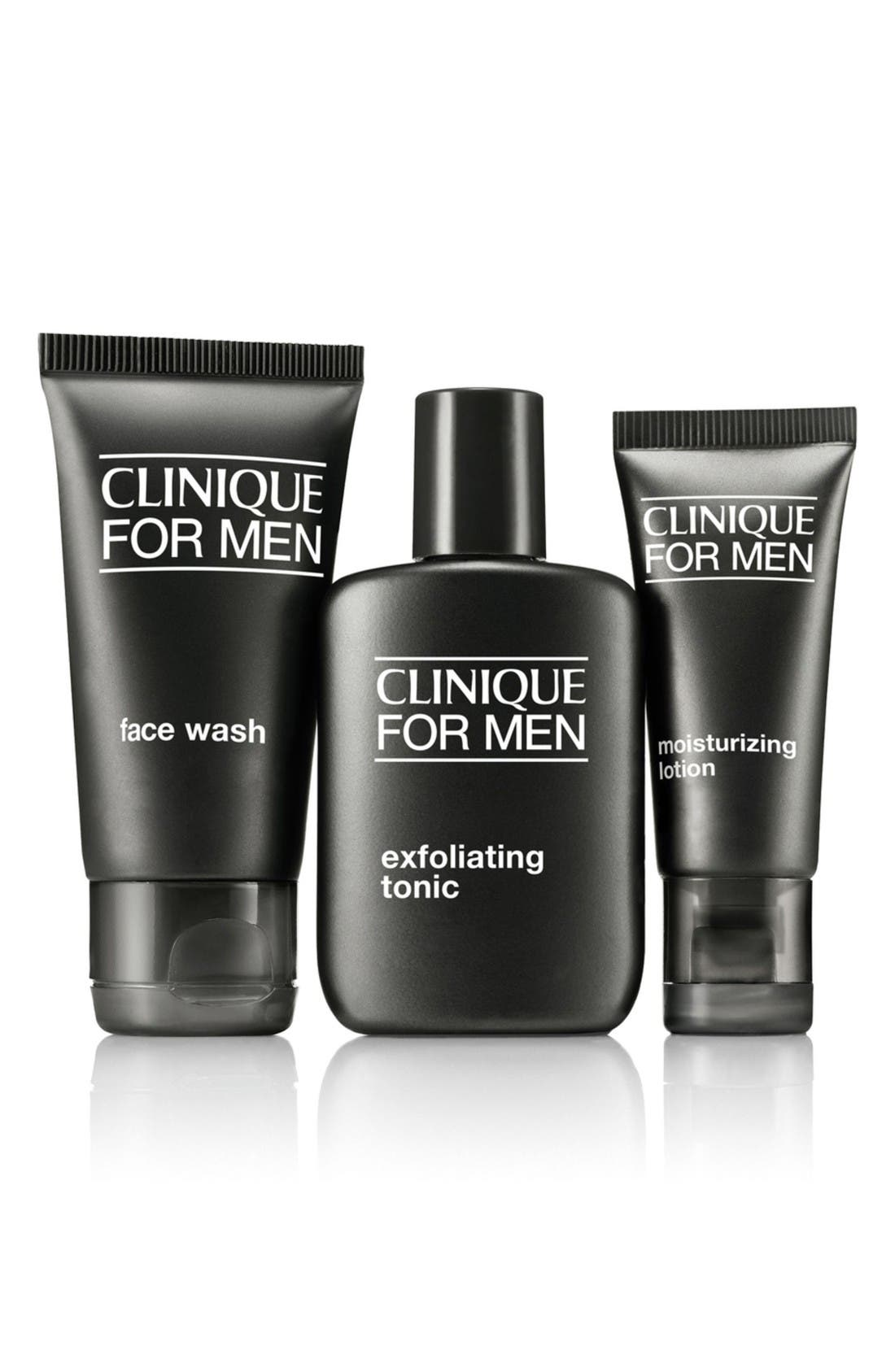 Clinique Men's Dry to Normal Skin Type Regimen