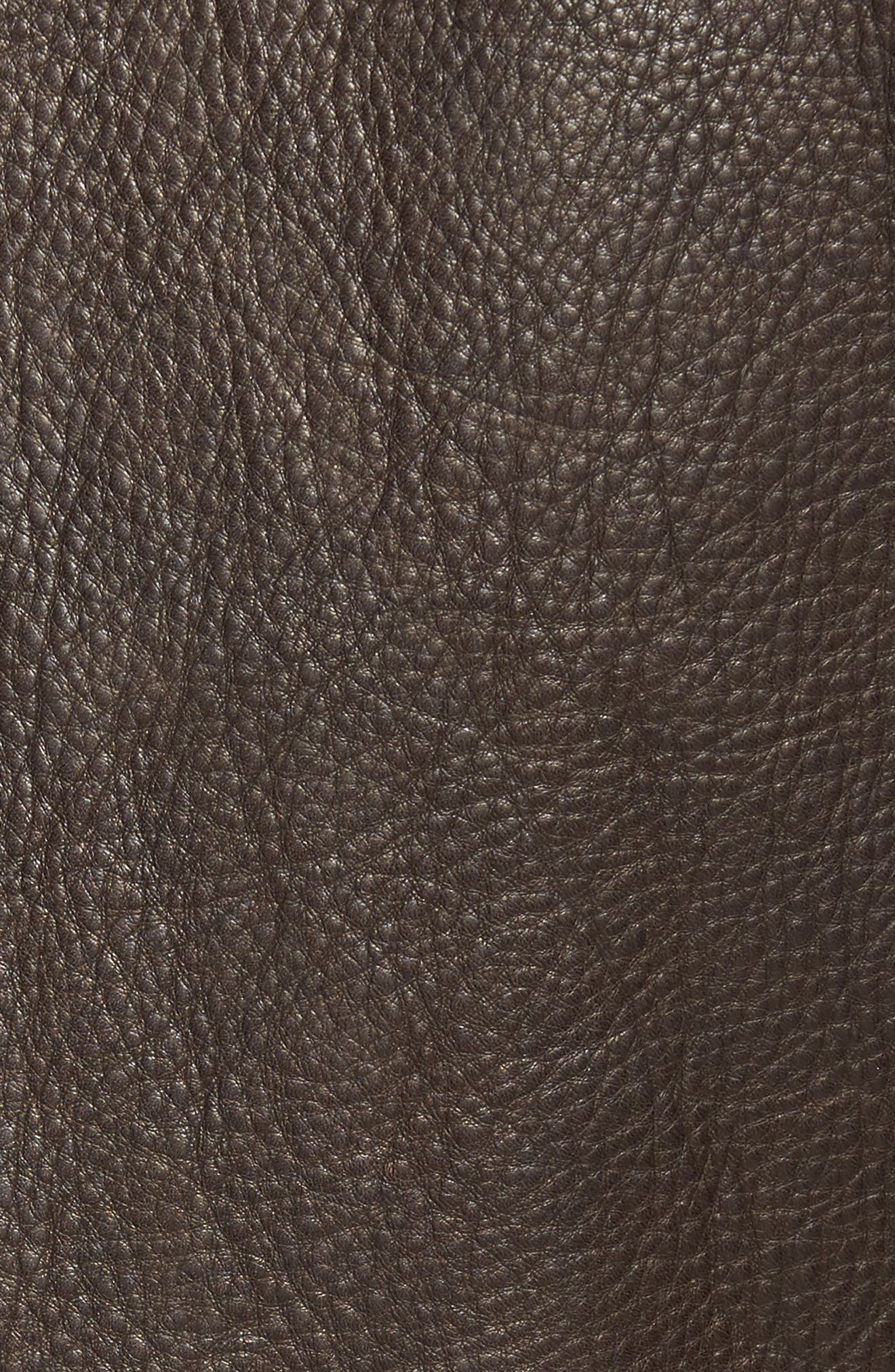 Alternate Image 5  - Vince Camuto Leather Zip Front Jacket
