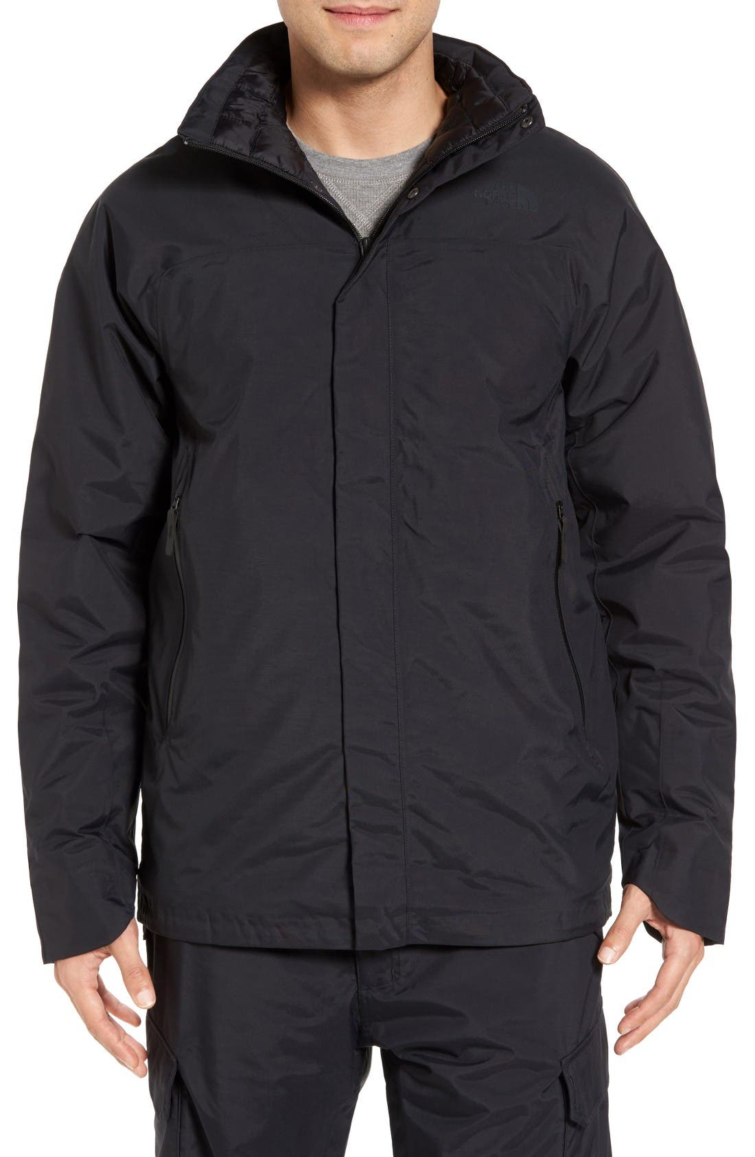 ThermoBall<sup>™</sup> Coat,                         Main,                         color, Tnf Black