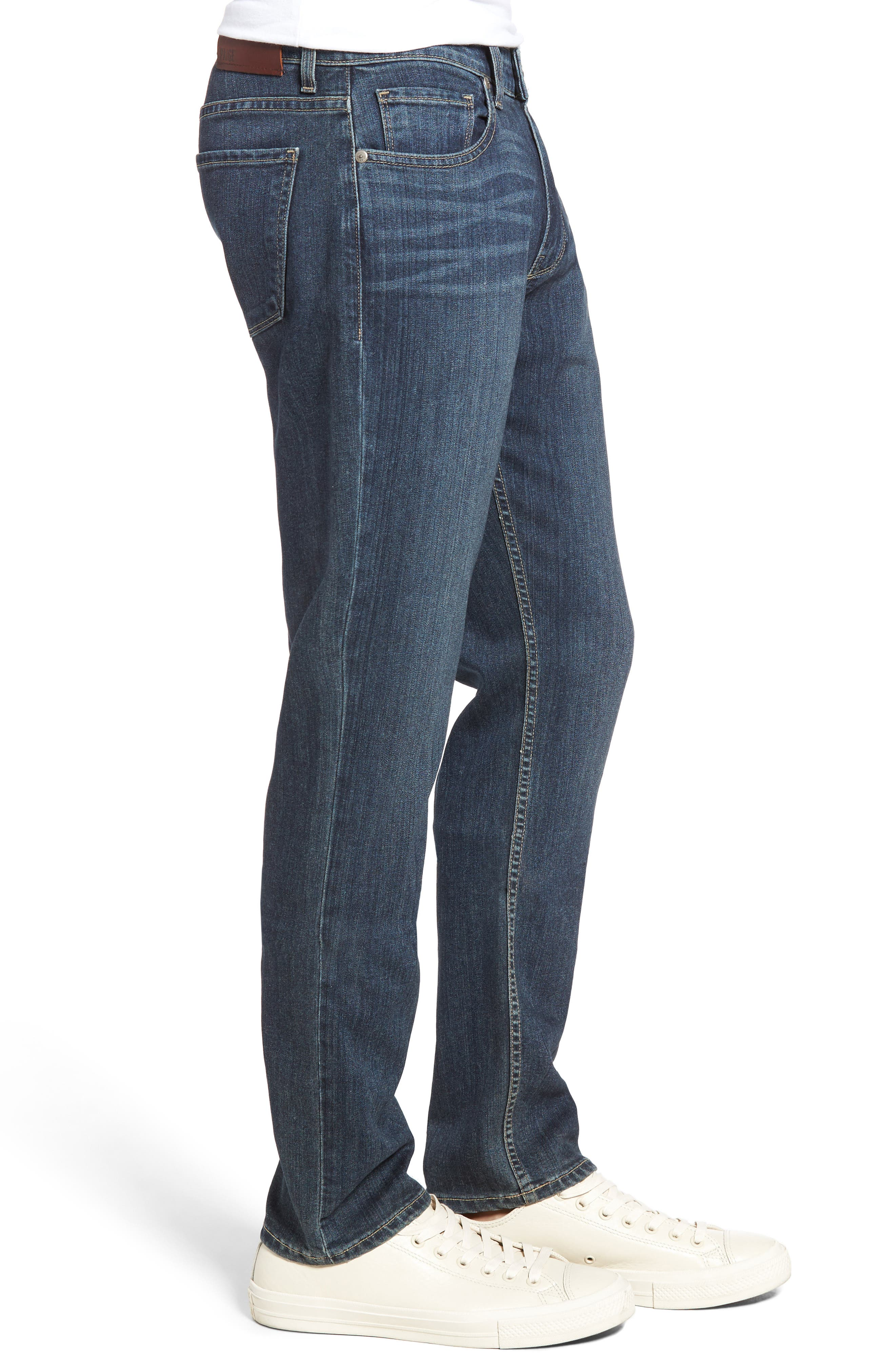 Transcend - Federal Slim Straight Leg Jeans,                             Alternate thumbnail 3, color,                             Wayne