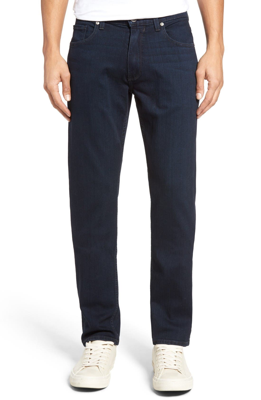 Main Image - PAIGE Normandie Straight Leg Jeans (Arlo)