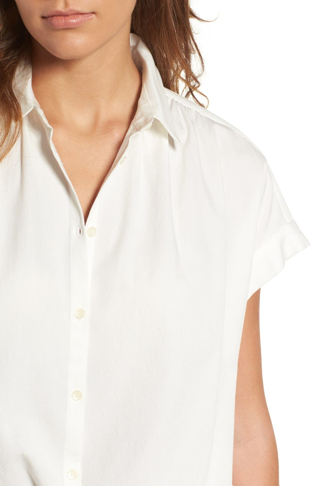 Alternate Image 4  - Madewell Central Blouse