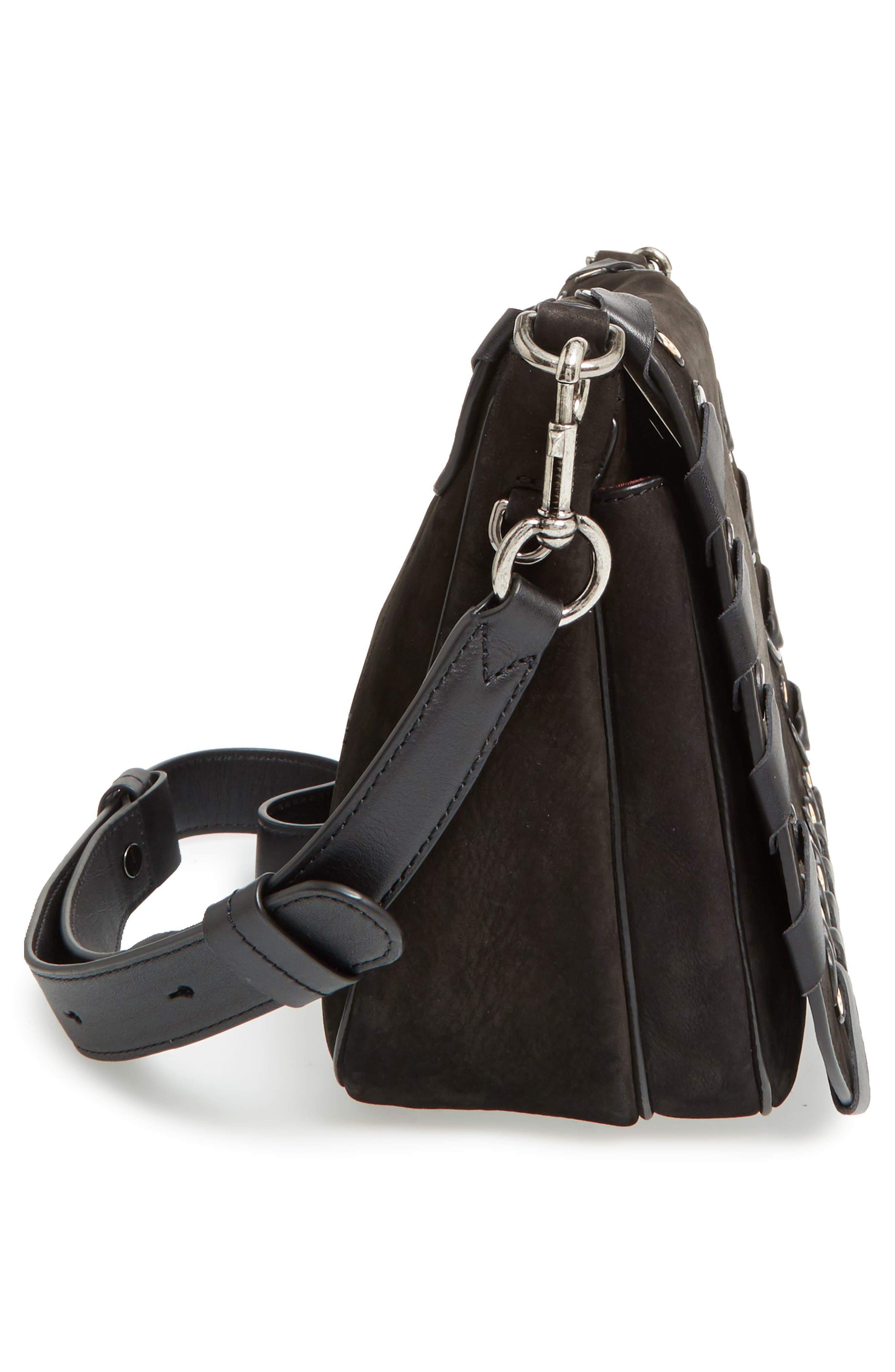 Alternate Image 4  - MARC JACOBS Courier Nubuck Leather Shoulder Bag