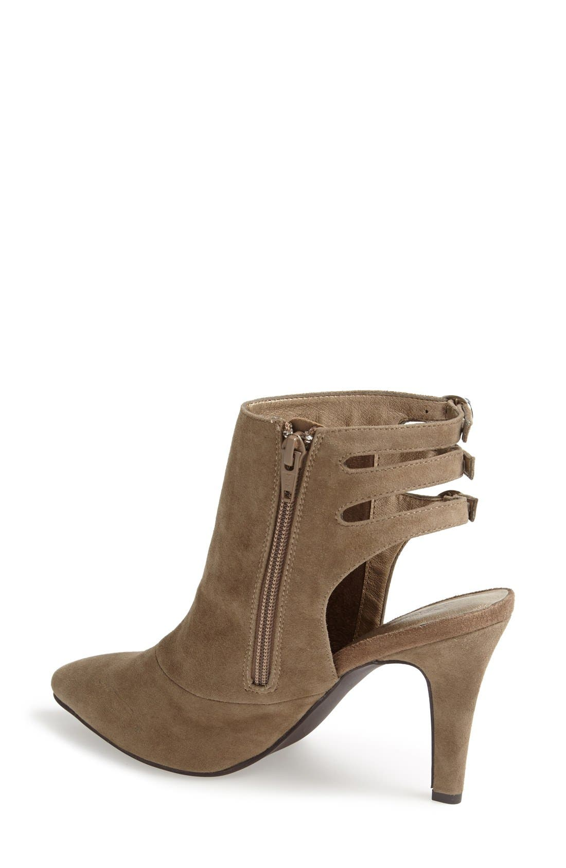 Alternate Image 2  - Seychelles 'Expert' Pointy Toe Suede Bootie (Women)
