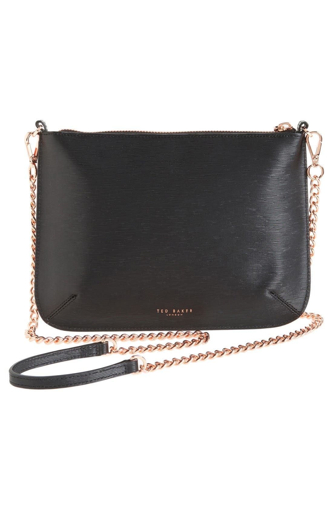 Alternate Image 2  - Ted Baker London Caisey Small Leather Crossbody Bag